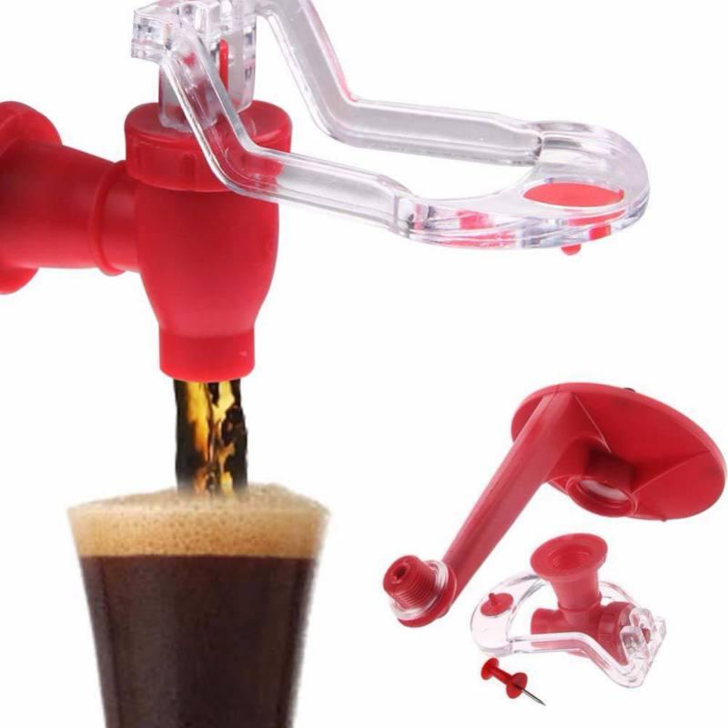 Nuevo dispensador de Soda de ahorro, grifo mágico, botella de dispensador de agua potable boca abajo, dispensador de bebida de cola, barra de fiesta