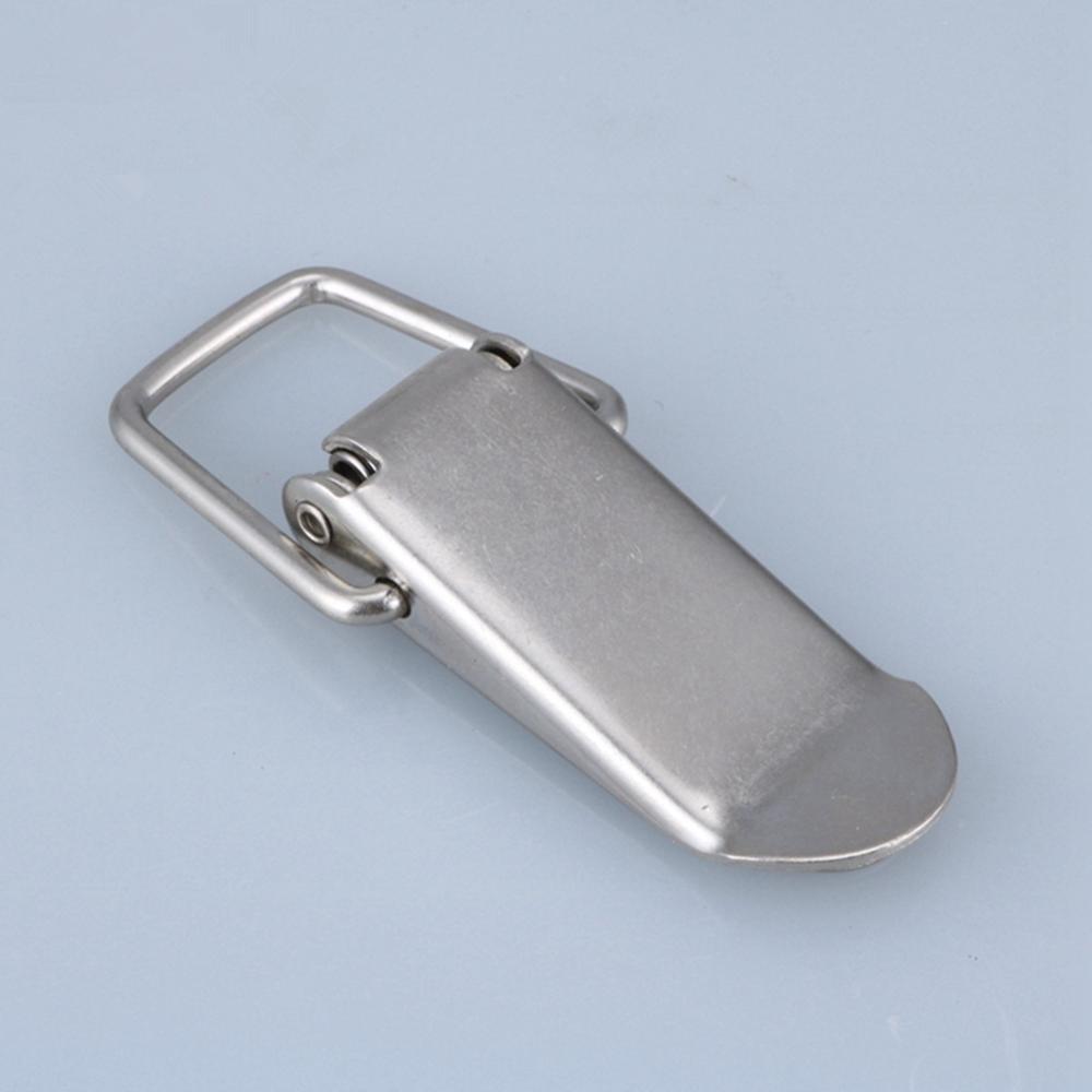 10pcs-43*21mm hebilla de boca de pato blanco Vintage Mini caja de pecho de bloqueo caja de regalo maleta estuche hebillas palanca cierre