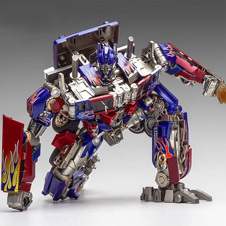 Wei jiang ss05 mpp10 transformação filme deformável comandante do carro liga de zinco figura ação robô móvel modelo brinquedo menino