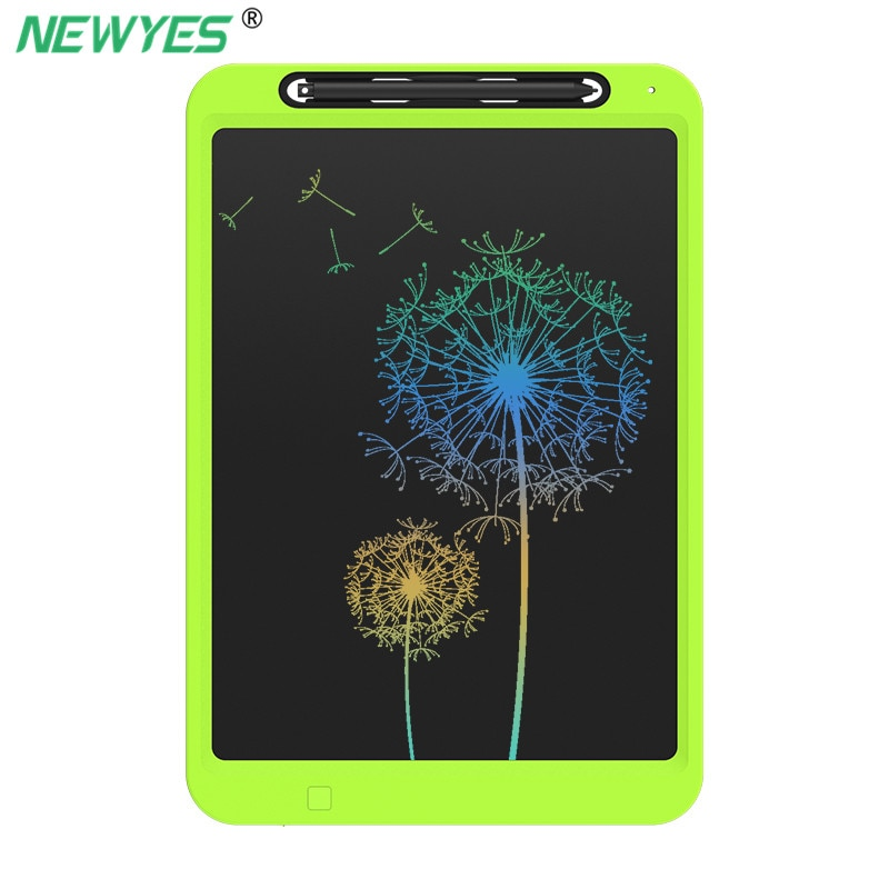 Newyes 12 polegada desenho tablet tela colorida eletrônico gráfico lcd escrita doodle placa de papel de escrita crianças presente com caneta