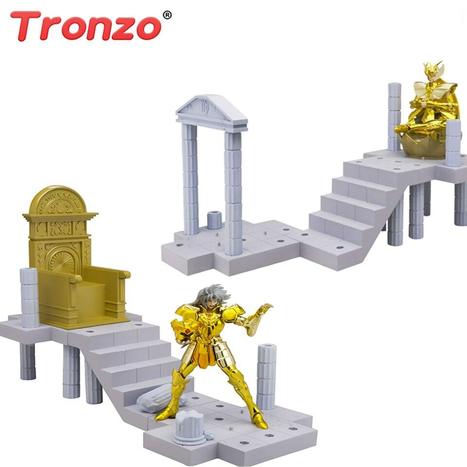 Оригинальный Bandai Saint Seiya D. D. PANORAMATION Gold Saint Saga Shaka ПВХ фигурка модель игрушки DDP Saint фигурка подарок