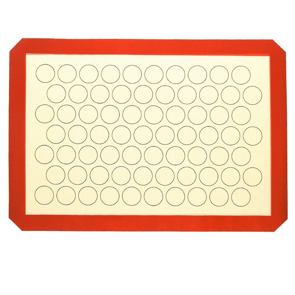 1 pc 42*29.5cm tamanho esteira de cozimento antiaderente almofada de isolamento bakeware ferramenta rolo bolo de massa multifuncional esteira