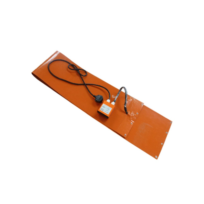 125x1740x1.5MM  With Spring and Digital Temperature Controller Flexible Silicone Rubber Heating Blanke For Oil Drum 220V enlarge