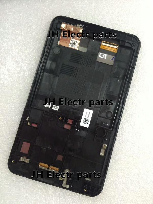 100% Getest 7 inch Lcd-scherm + Touch Screen Digitizer Vergadering Voor ASUS Fonepad ME170 K012 ME170C + Frame Gratis gereedschap Gratis Verzending