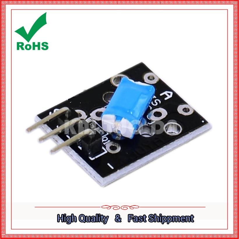 The tilt switch module KY-020 is suitable