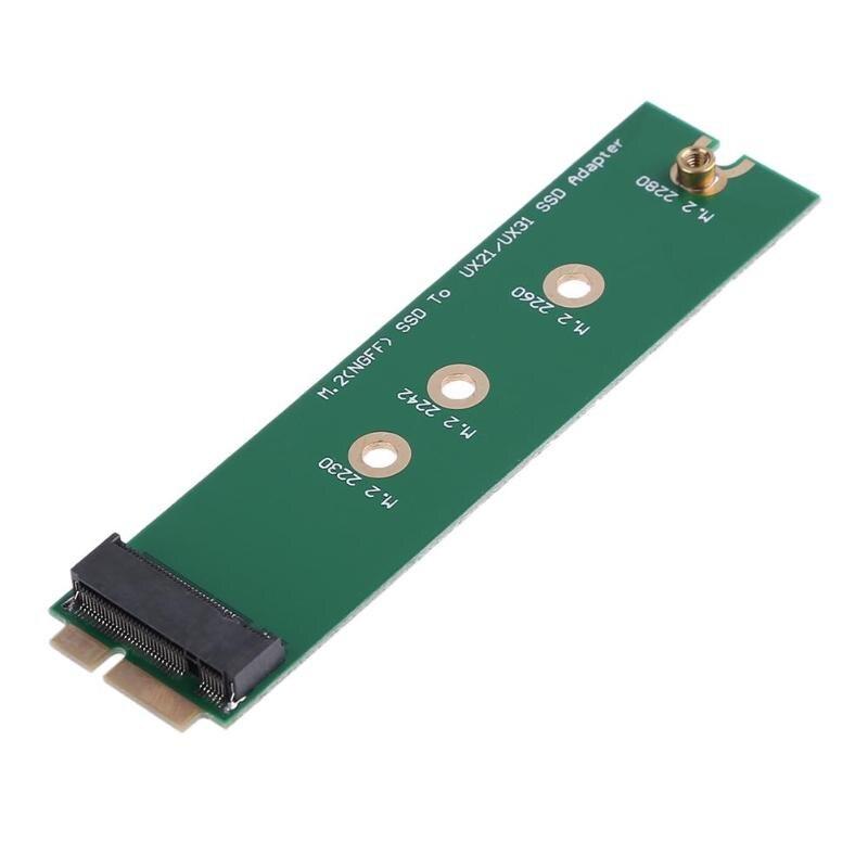 M.2 NGFF SSD zu 18 Pin Verlängerung Adapter Karte für ASUS UX21 UX31 Zenbook SSD hohe quility Adapter Karte Für UX21E UX21A UX31 UX3