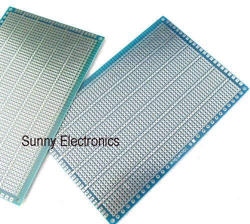 PROTOTYPE Sided PCB 10x15cm   Universal PCB Board  Single Side 2pcs/lot Sided PCB  free shipping