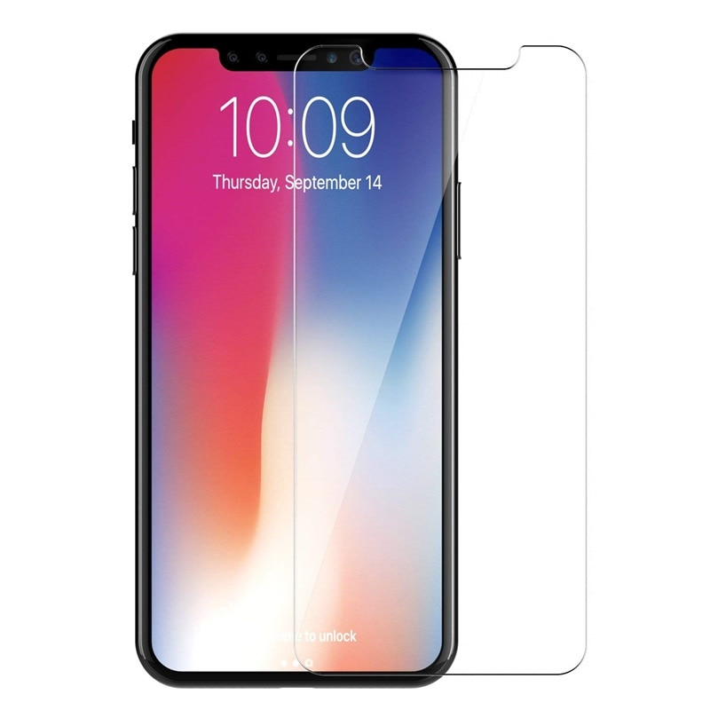 Ultra Thin Tempered Glass For iPhone XS Max XR X 7 8 6S 6 Plus 5 5S SE 4 4S 9H Anti-explosion Screen
