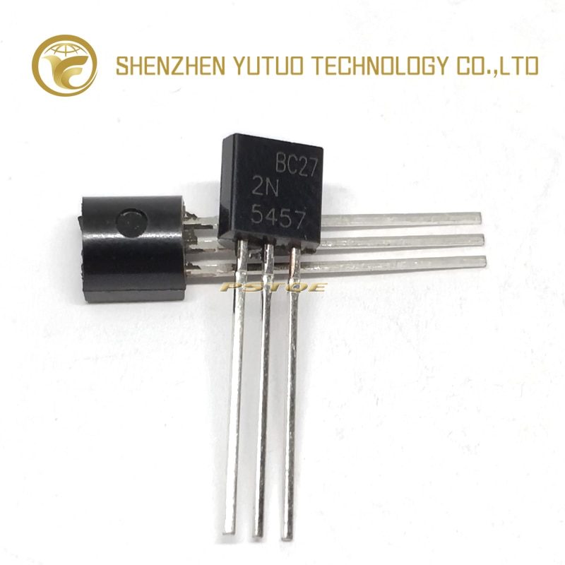 PSTQE 2N5457 2N5457G TO-92 JFET N-Canal Transistor de Alta qualidade Em Estoque