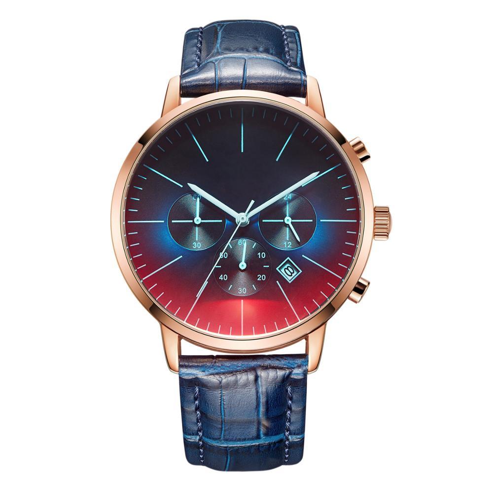 Personalizado à Prova Presente para Sua Água Casual Gravura Relógios Nenhum Logotipo Luxo Moda Esportes Relógio Masculino Militar Melhor Família dz