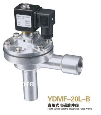 Válvula de pulso electromagnética tipo ángulo recto DMF-20L-B