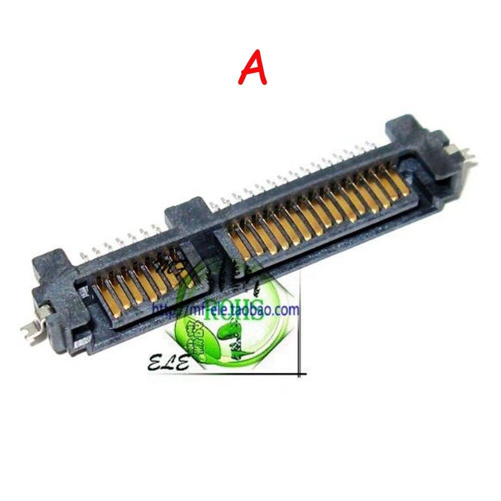 Ranura para disco duro de estado sólido con enchufe de interfaz SATA de 5 uds. 7 + 15P enchufe macho SMT