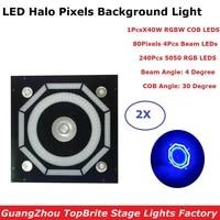 professional led halo pixels light dmx stage light 40w rgbw 4in1 led par light 240pcs 5050 rgb leds dmx disco light for dj