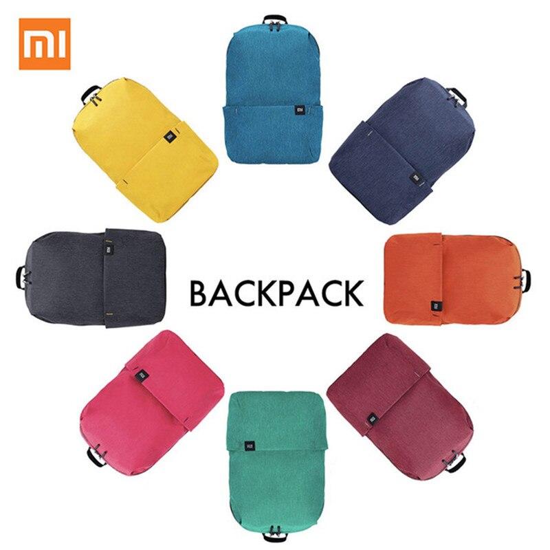 Original Xiaomi Mi Backpack 10L Bag 10 Colors 165g Urban Leisure Sports Chest Pack Bags Men Women Small Size Shoulder Unise H30