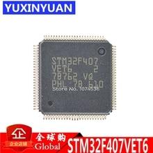 10 sztuk/partia STM32F407VET6 STM32F407 Patch mikrokontroler układu 32-bit 512 k flash LQFP100