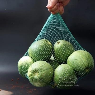 100pcs/bundle White and Green Garlic Net Bag Aquatic Fruit Net Bag Food Packaging Net Horticultural Net Bag