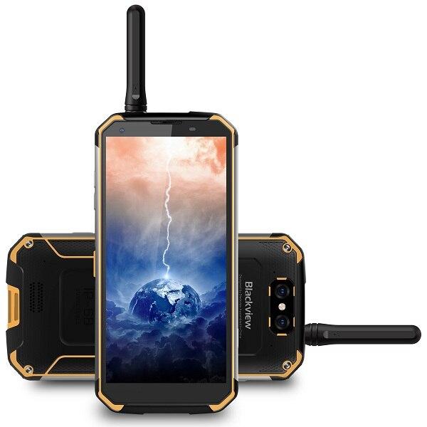 "Blackview a BV9500 Pro Walkie Talkie impermeable teléfono inteligente 10000mAh 5,7 ""189 MTK6763T Octa Core 6GB + 128GB NFC carga inalámbrica"