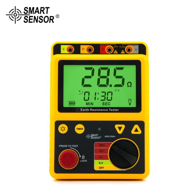 AR4105A Tragbare Erde Widerstand Tester 2ohm/20ohm/200ohm