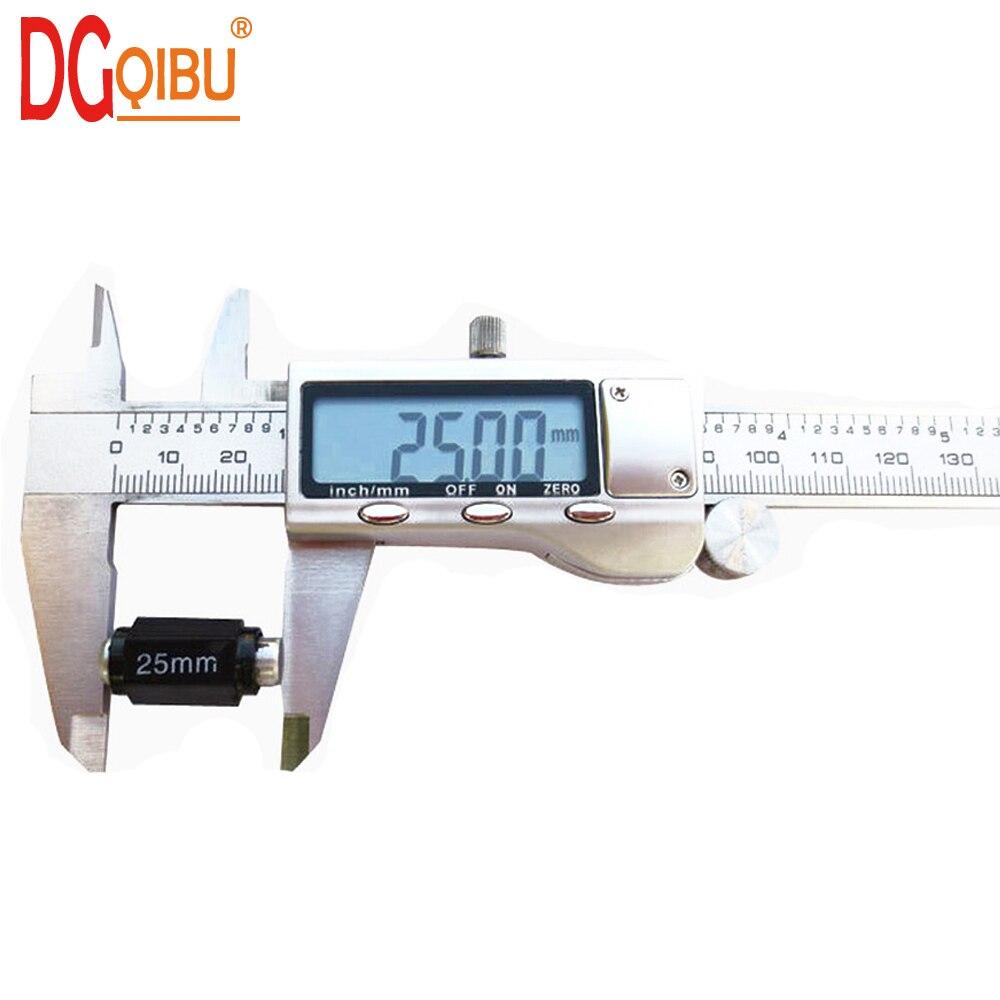 "Calibrador Digital 0-150mm/6 "", calibre Digital de carcasa de Metal de acero inoxidable, calibrador VERNIER, calibrador de precisión, calibrador electrónico"