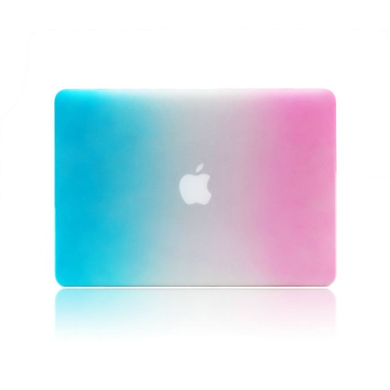 Rainbow Protective Shell Flip Laptop Case For Macbook air 13 pro 13 retina 13 12 air 11 pro 15 notbo