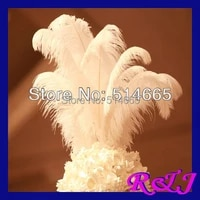 ems free shipping cheap ostrich plume 100pcslot white ostrich plumage ostrich feather 18 20inch 45 50cm