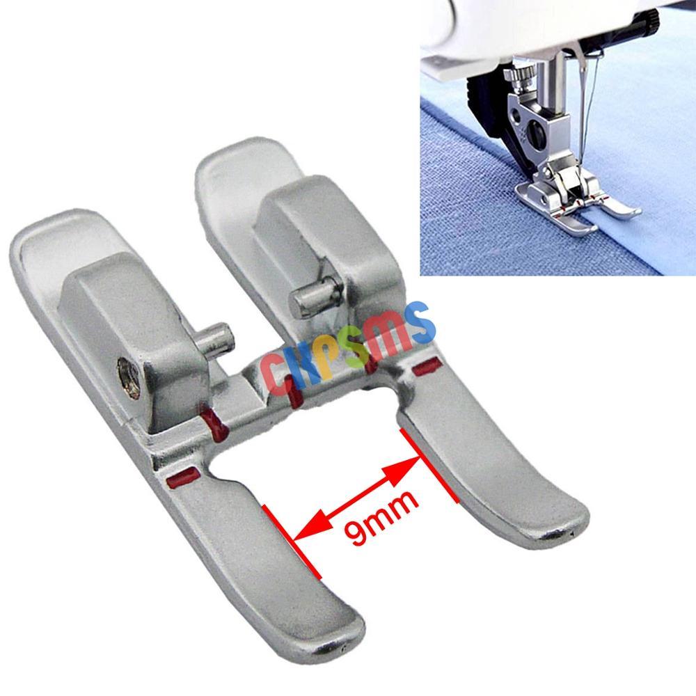 1 piezas #93-036933-91 9mm prensatelas de Punta abierta pies con IDT para costura Pfaff máquinas