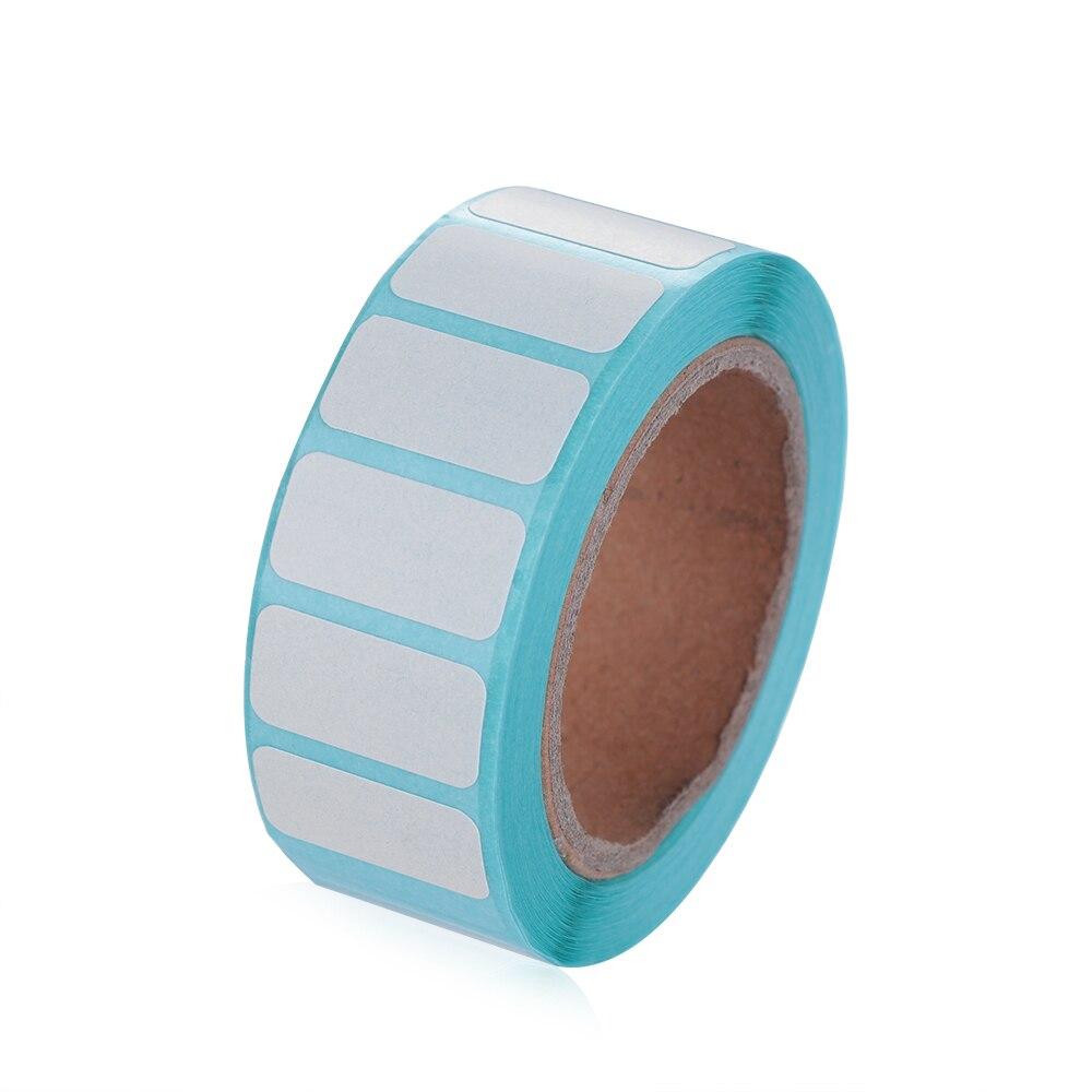 700 pces/rolo adesivo etiqueta térmica preço supermercado etiqueta em branco impressão direta impermeável 20*10/30*20mm material de escritório