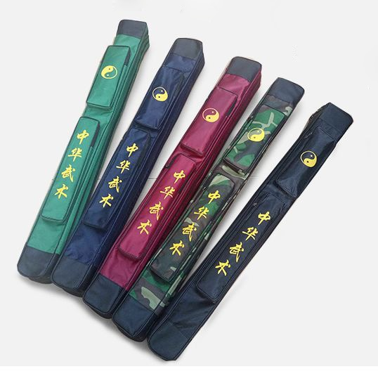 Oxford single layer martial arts sword bags wushu knifetai chi  kung fu bag 109cm