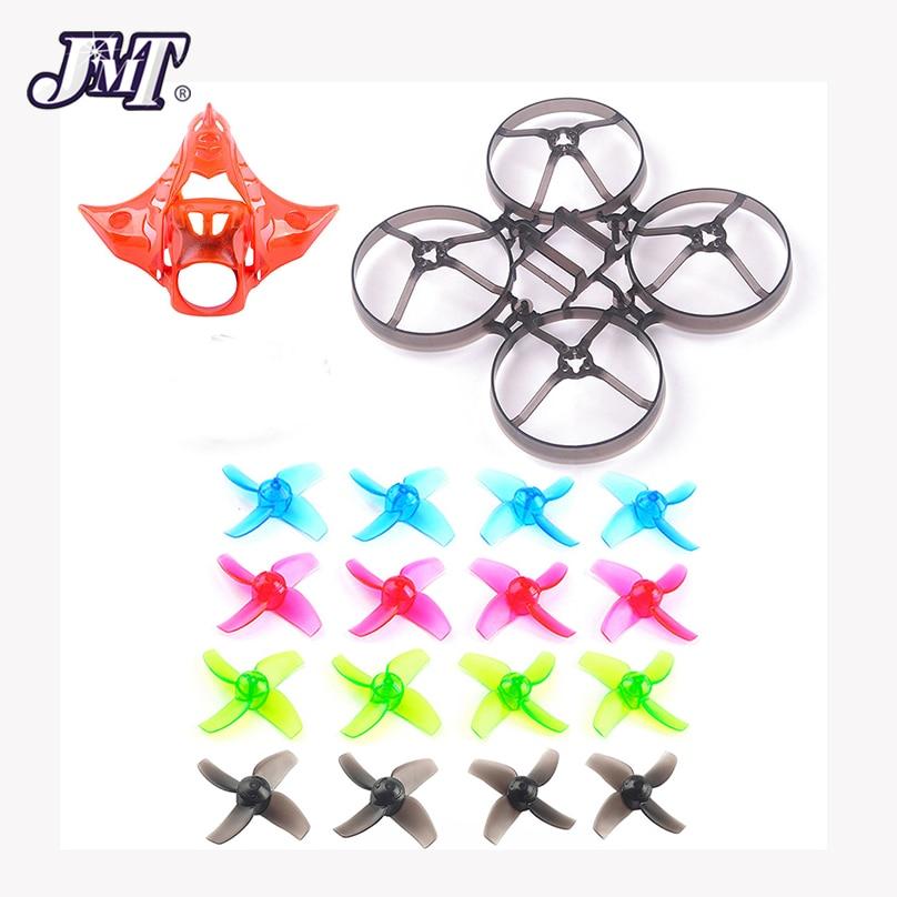 Jmt mobula7 v2 v3 quadro hélices câmera dossel v2 para 75mm bwhoop75 sem escova mobula7 mobula 7 fpv racing drone