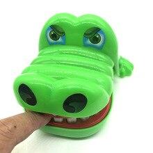 Stomatologist grande boca dinossauro grande lobo cinza crocodilo mordida dedo jogo de plástico engraçado novidade brinquedo das crianças brinquedos