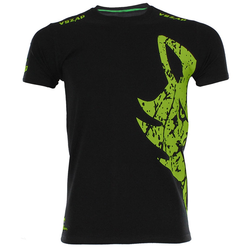 VSZAP gigante Muay Thai camisetas de lucha verde Logo negro camisetas de artes marciales mixtas UFC Camiseta cuello redondo