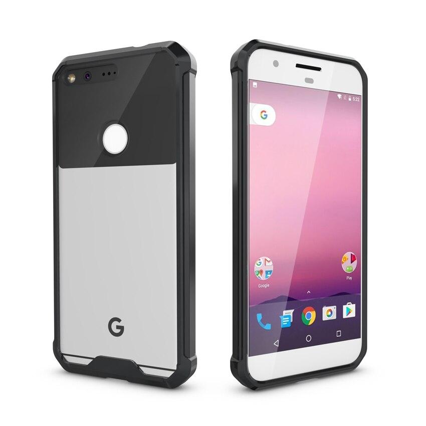 Slim Transparent Armor Cover Protective Silicone Phone Case for Google Pixel 2 XL Pixel2XL Pixel3 PixelXL Pixel XL3 Soft TPU