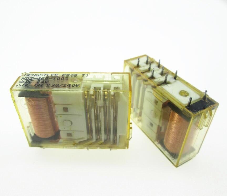 سلامة 24V تتابع HDZ-468-1003 HDZ4681003 HDZ-468 468-1003 24VDC DC24V 24V DIP10 2 قطعة/الوحدة