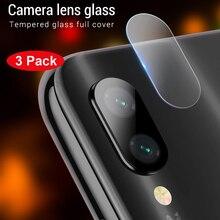 3 pièces téléphone caméra lentille verre trempé pour Xiaomi Redmi 7 6A Note 7 6 5 Pro Mi8 Mi A1 A2 Lite Mi9 SE protecteur Film de protection