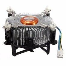 Haute Qualité En Aluminium refroidisseur de processeur De Refroidissement Ventilateur Refroidisseur Pour Ordinateur PC Silencieux Ventilateur De Refroidissement Pour 775/1155/1156