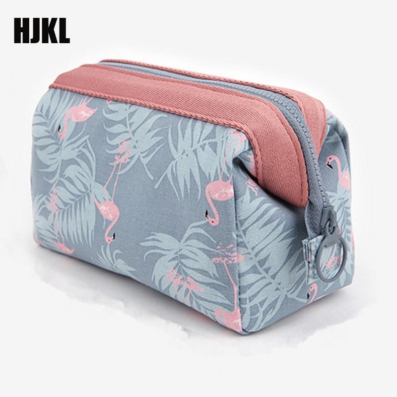 Organizador de Higiene viagem Multifunções Flamingo Hot qualidade Bag Cosméticos Mulheres Bolsa de Maquiagem À Prova D Água Bolsa de Maquiagem Portátil
