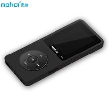 Mahdi MP4 player 8 GB 24 Lingue Russo 80 Ore di Musica Tempo di riproduzione Video Player TF Speaker Sveglia + Auricolare bracciale