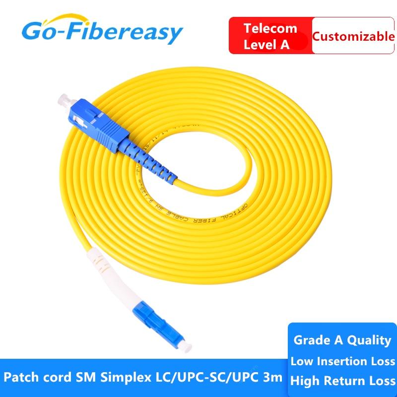 Fibra optica-Cable de conexión ftth LC/UPC-SC/UPC