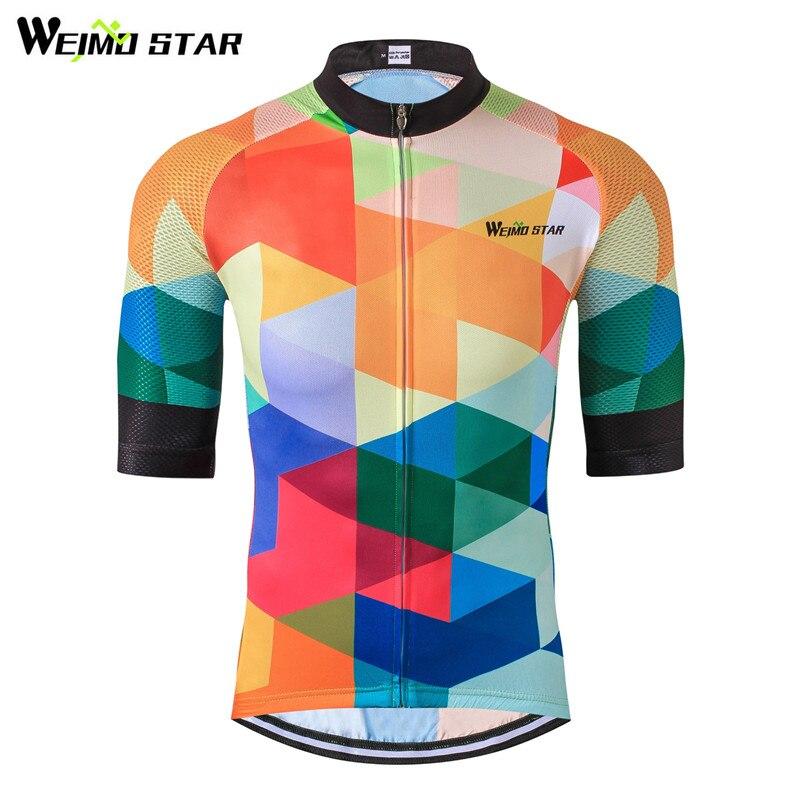 Weimostar 2019 camiseta De Ciclismo transpirable Ropa De Ciclismo verano mtb bicicleta...