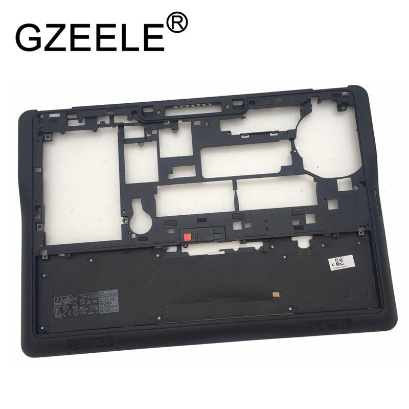 Gzeele novo para dell latitude e7450 portátil inferior caso base inferior capa 0hvj91 hvj91 chassi quadro montagem