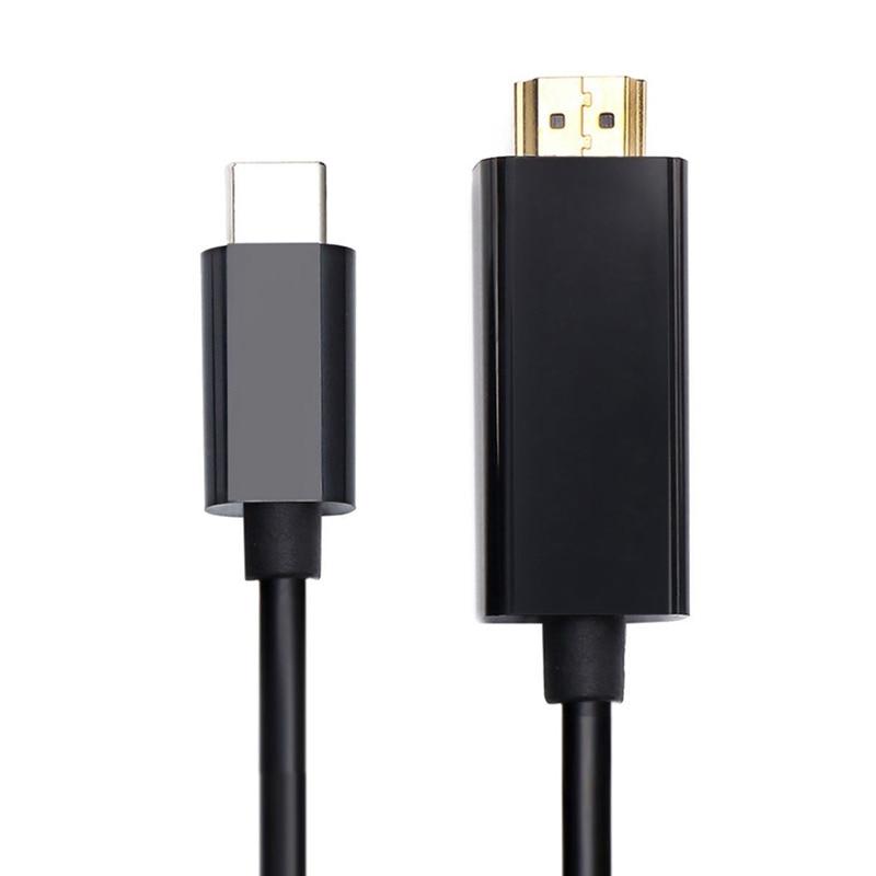 AABB USB C Type 3 1 к HDMI 4k 2k HDTV кабель для Galaxy S8 + macbook (6 футов)|Кабели MP3/MP4-плееров| |