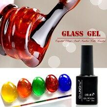 7.3ML Gel couleur ambre translucide vernis à ongles émail Gel Nail Art manucure UV Gel vernis à ongles vernis à ongles vernis à ongles Gel de verre bricolage