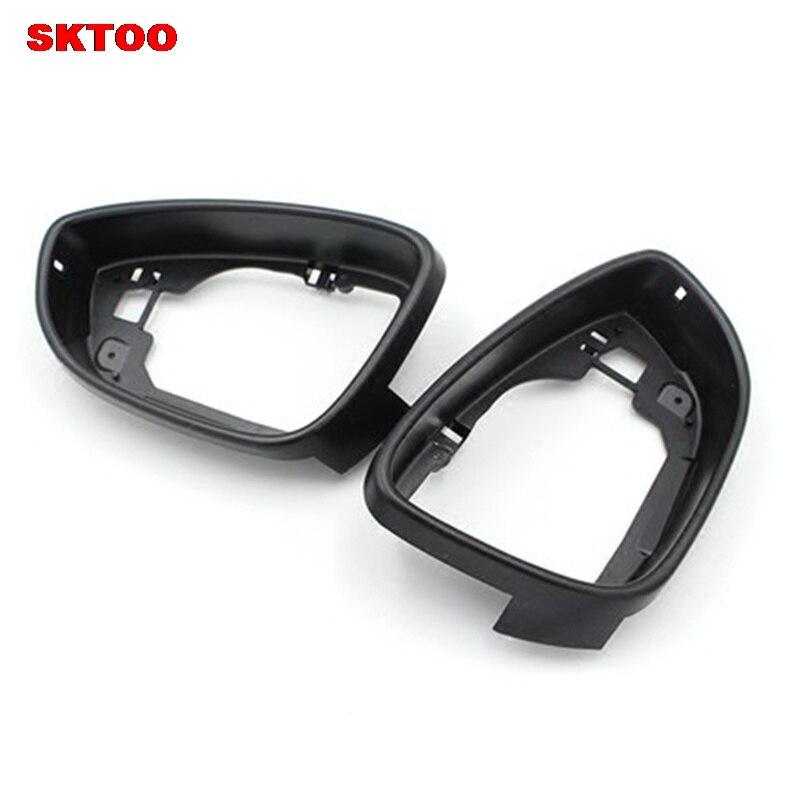 Автомобильное боковое зеркало корпус рамка отделка для VW passat b7 CC Jetta MK6 Beetle EOS Scirocco OEM 3C8 857 601 A 3C8 857 602 A
