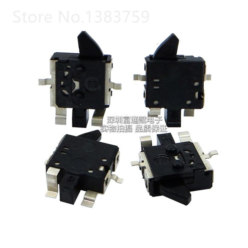 Interrupteur de détection Jog limite   10 pièces, interrupteur de détection patch, 4 pieds, interrupteur de caméra, auto-réinitialisation