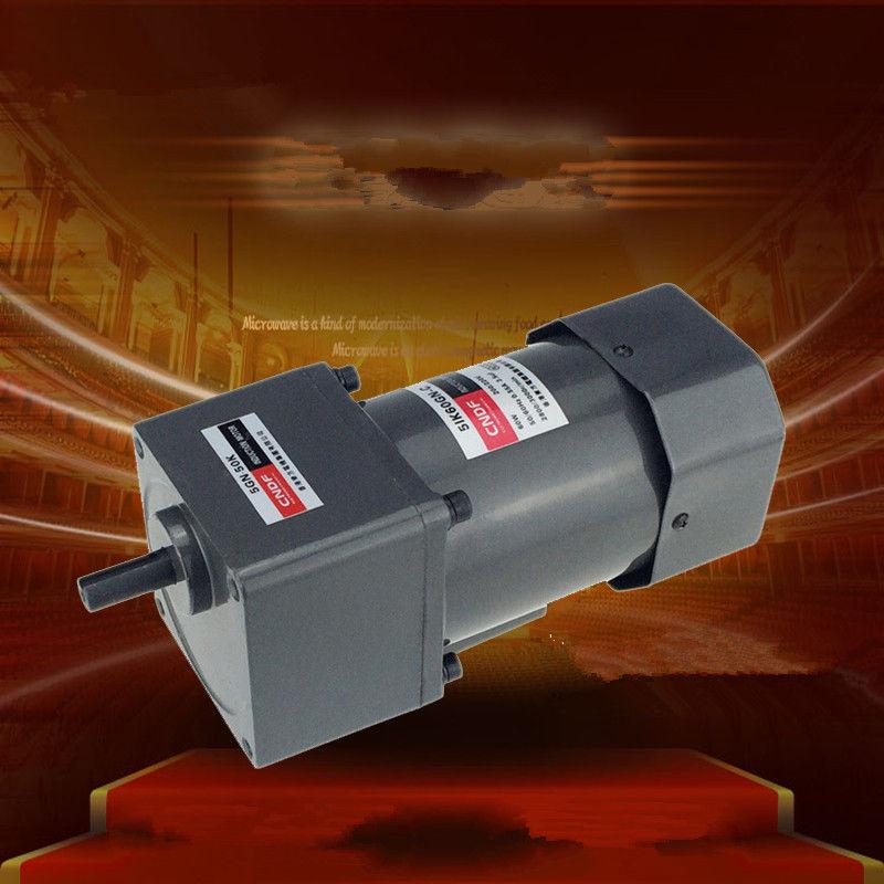 110 V 200 V/220 V/230 V 380 V AC Vertikale Micro Getriebe Motor Konstante geschwindigkeit 60 W 5IK60GN Konstante geschwindigkeit Hohe Drehmoment 7 RPM-450 RPM 5GN