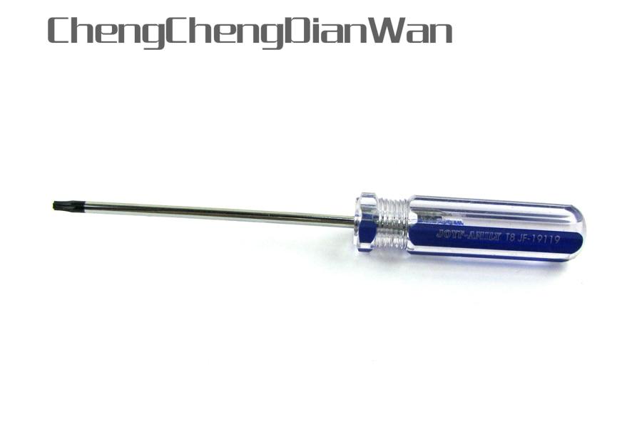 ChengChengDianWan 50 قطعة/الوحدة توركس T8 تزوير الأمن مفك ل Xbox360 تحكم و PS3 ضئيلة