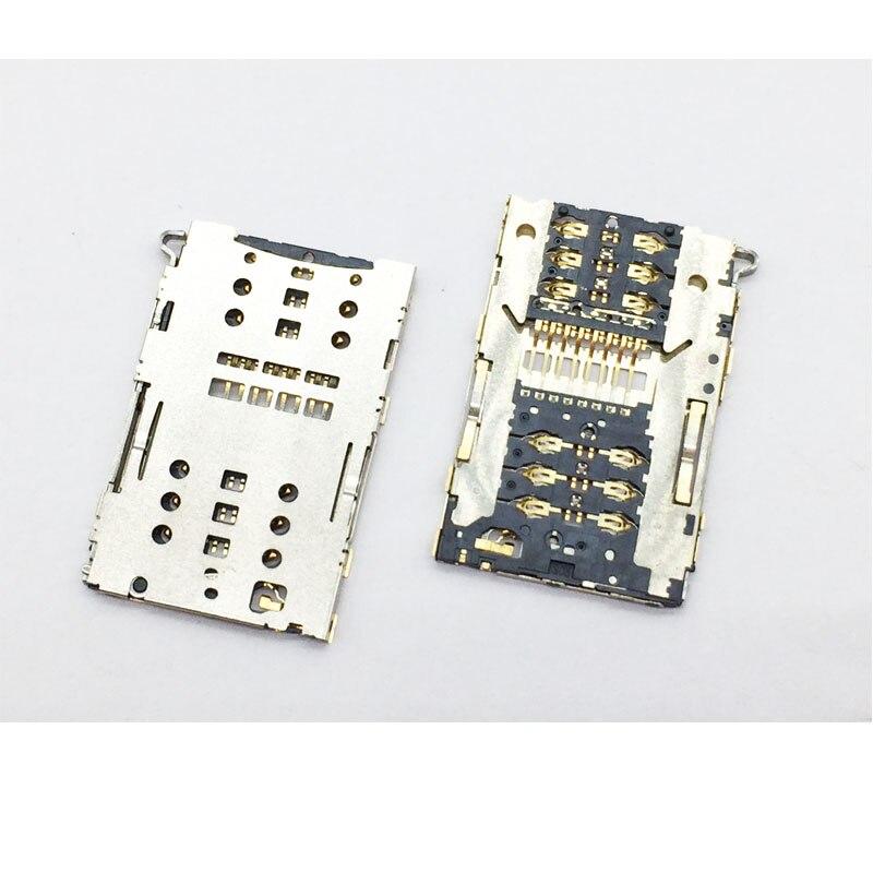 ¡10 uds/lote! Nuevo soporte de bandeja SIM Original para Xiaomi Redmi Note 3 Pro lector de tarjetas SIM soporte ranura conector piezas de repuesto