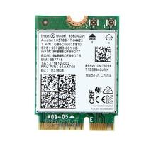 Double Bande 1.73 Gbps 802.11ac Wifi Réseau Sans Fil Wlan Carte Pour Intel 9560 9560NGW NGFF Clé E 2.4G/ 5 Ghz Wi-fi Bluetooth 5.0