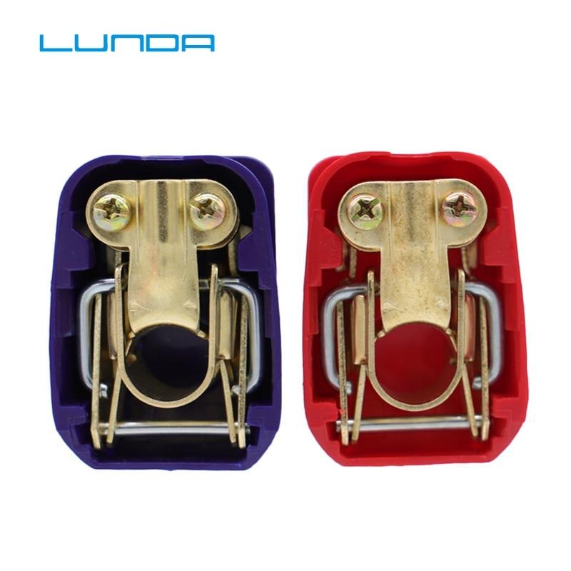 Abrazaderas de Conector de terminales de batería de coche LUNDA de liberación rápida de elevación positiva y negativa