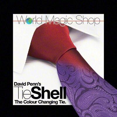 Tie Shell (la corbata que cambia de Color) de David Penn, trucos de magia